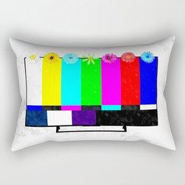 Test TV Rectangular Pillow