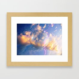 Unidentified Flying Orb Framed Art Print