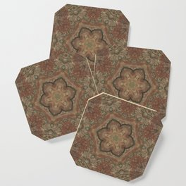 Terracota + Moss Coaster