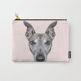Whippet // Pastel Pink (Vespa) Carry-All Pouch