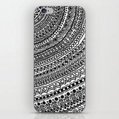 Black Pulse o1. iPhone & iPod Skin