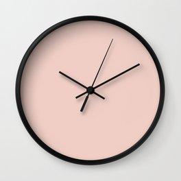 pale dogwood Wall Clock