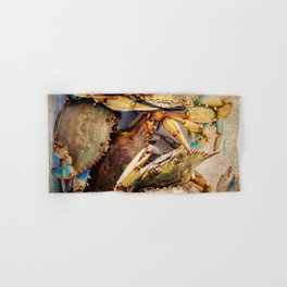 Blue Crabs Hand & Bath Towel