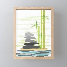 Feng shui meditation Framed Mini Art Print