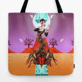 Spiders from Mars  Tote Bag