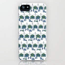 Let's Go to the Market! – Xmas Edition iPhone Case