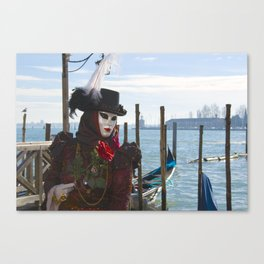 Carnival in Venice Canvas Print