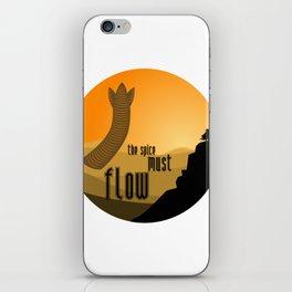 must flow iPhone Skin