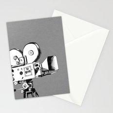 vintage filming Stationery Cards
