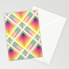 Retro Rainbow Stationery Cards