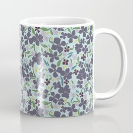 Flower Meadow - Purple Coffee Mug