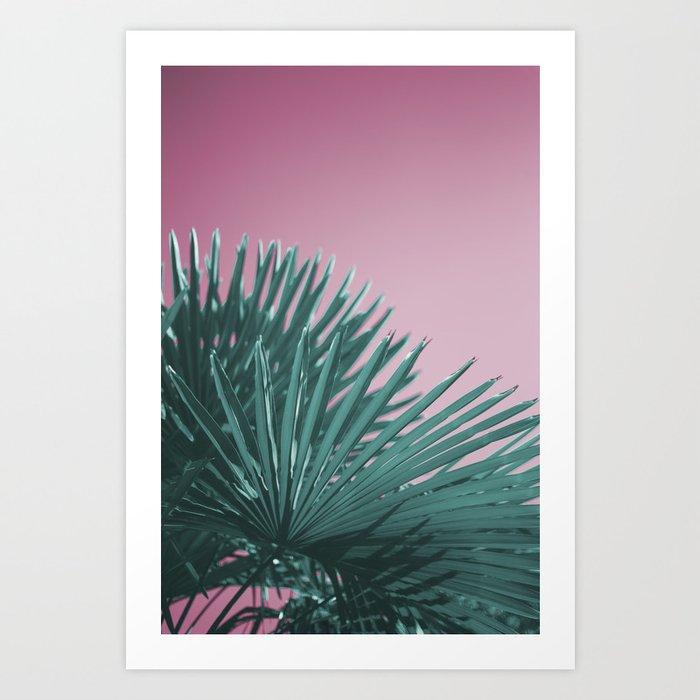 Pop Art Palms Art Print