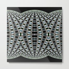 Sylvery Dome Lineup Metal Print