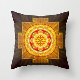 Sri Yantra - Artwork XIV Throw Pillow