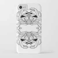 crab iPhone & iPod Cases featuring Crab by dieanderwolf