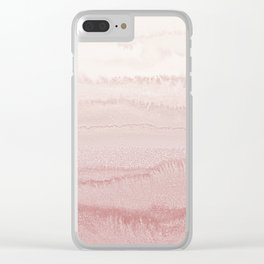 WITHIN THE TIDES - BALLERINA BLUSH Clear iPhone Case