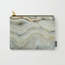 White Agate Carry-All Pouch