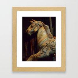 The Dark Horse Mourns Framed Art Print