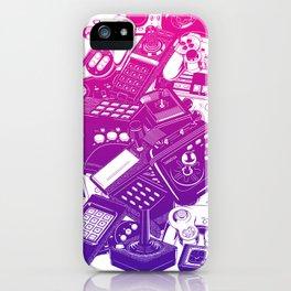 Joysticks & Controllers II iPhone Case