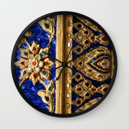 Thai Royal Walls Wall Clock