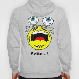 FREAKIN' CRYING EMOTICON! Hoody