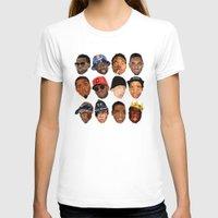 hip hop T-shirts featuring hip hop head by Sneaker Pie