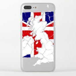 Great Britain London England Gift Kingdom Clear iPhone Case