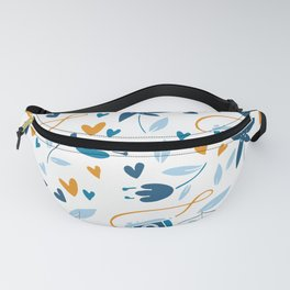 floral & photo Fanny Pack