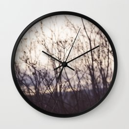 Wave in the Wind Wall Clock