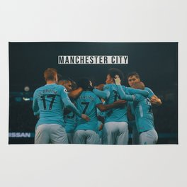 Manchester City Rug