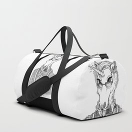 Ironic Hipster Unicorn Duffle Bag