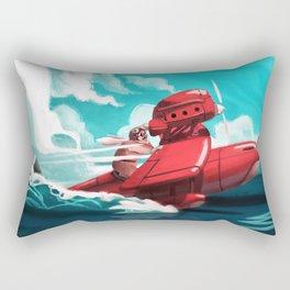 Porco Rosso Rectangular Pillow