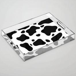 Cow Hide Acrylic Tray