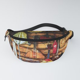 Ancient Folk Musical Instruments Fanny Pack