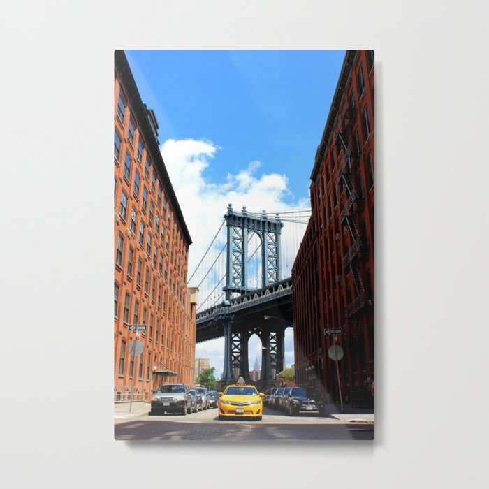 That Brooklyn View - The Empire Peek Metal Print