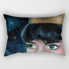 Queen of Space Rectangular Pillow