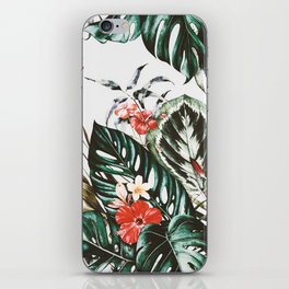 Jungle watercolor iPhone Skin