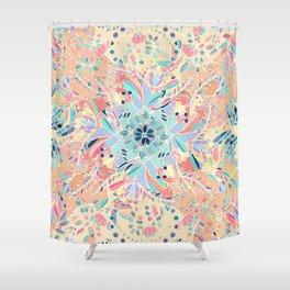 Paradise Doodle Shower Curtain
