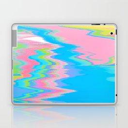 Neon Spill Abstract Laptop & iPad Skin
