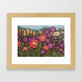 Spring Meadow Framed Art Print
