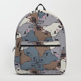 Frenchie Yoga Tessellations Backpack