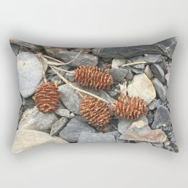 River Stone Tiny Cones Rectangular Pillow