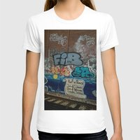 grafitti T-shirts featuring Grafitti Art by Lisa De Rosa-Essence of Life Photography
