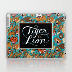 Tiger VS. Lion Laptop & iPad Skin