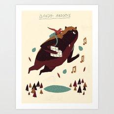 banjo-kazooie Art Print