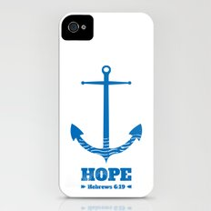 Anchor for the soul. Hebrews 6:19. Slim Case iPhone (4, 4s)