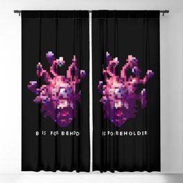 B is for Beholder Blackout Curtain