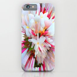 Flowers of  Pure Love Essence iPhone Case