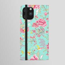 Hatsumo Exquisite Oriental Pattern III iPhone Wallet Case