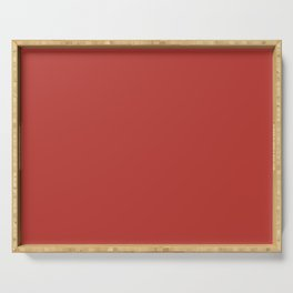 PANTONE 18-1550 Aurora Red Serving Tray